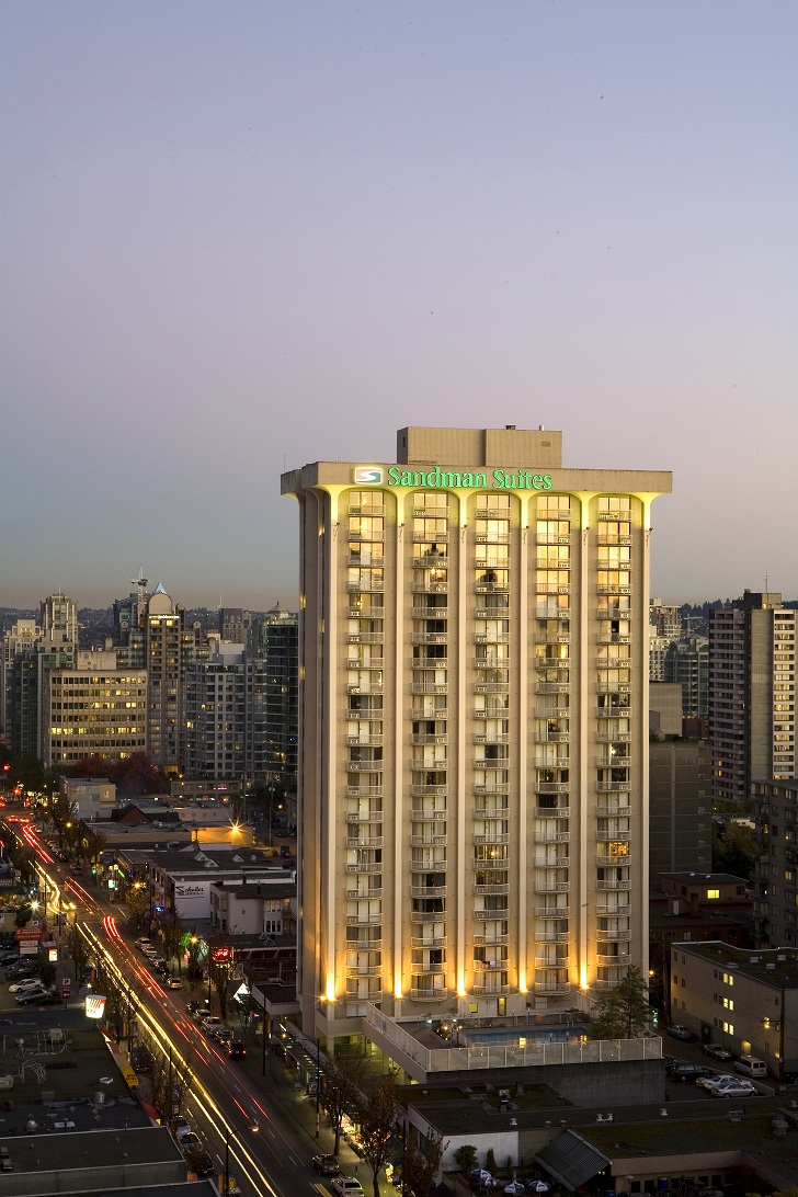 Sandman Hotel Vancouver City Centre Breakfast