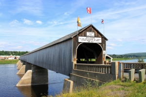 New Brunswick - longest wooden covered bridge