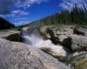 Northwest Territories - Sambaa Deh Falls1