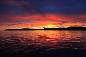 Nunavut - sunset