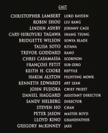 movie credits