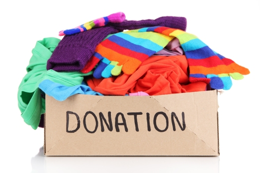clothes donations