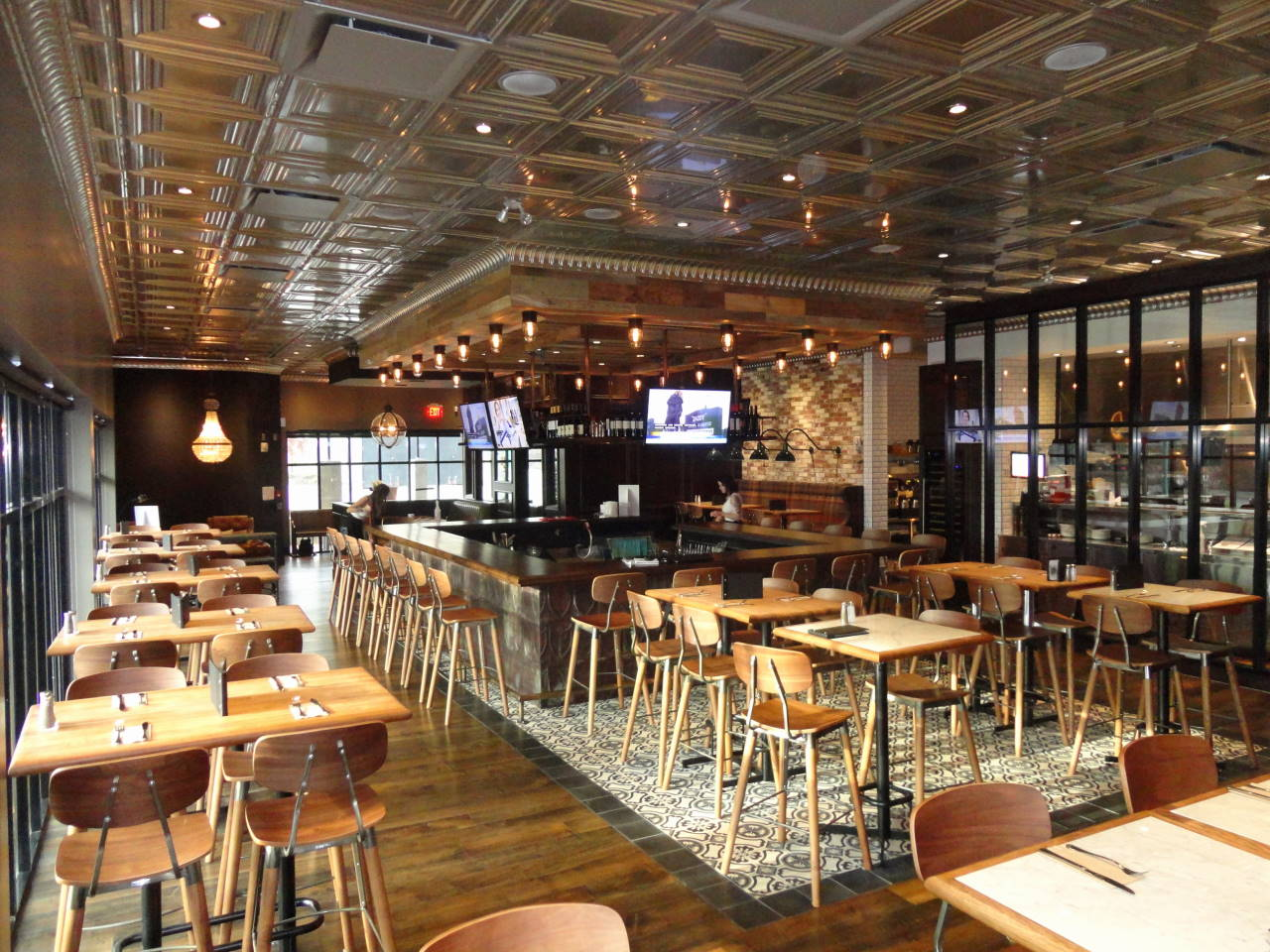 Millwork Wood Grille : Moxie s grill bar opens at sandman signature kamloops