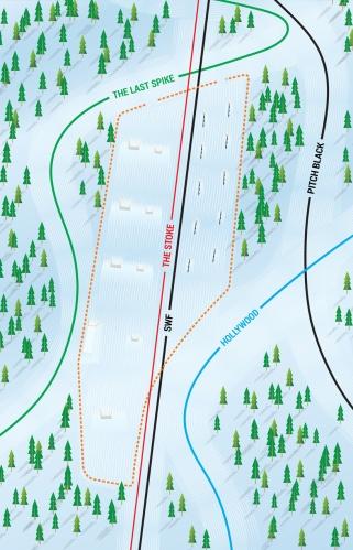 Revelstoke terrain park