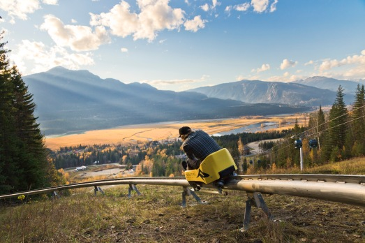 mountain coaster, Revelstoke Mountain Resort, Revelstoke